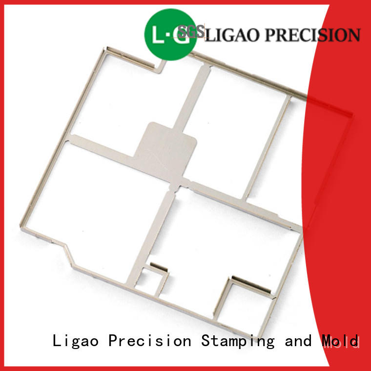 Ligao autoparts progressive die and stamping manufacturer for shield case