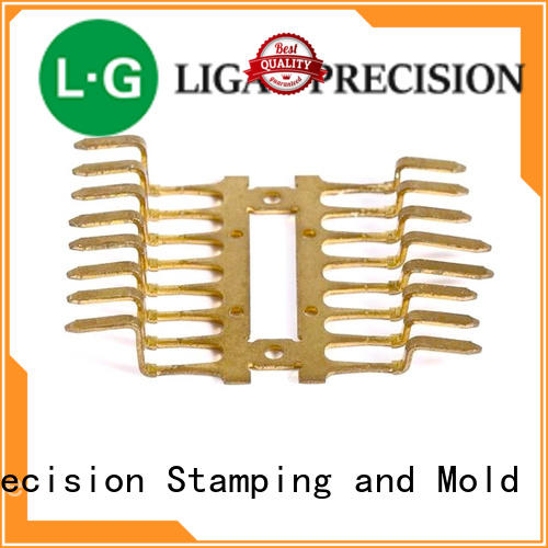 Beryllium copper alloy precision stamping for connector, switch, terminal, Torsion spring