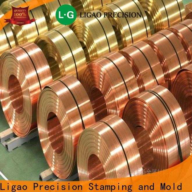 Ligao Custom metal for stamping manufacturers for shield cap