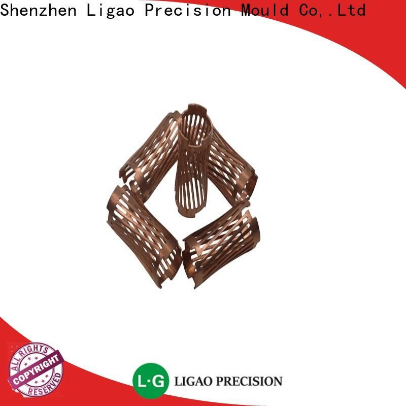 Ligao beryllium metal stamping manufacturers factory for shield cap