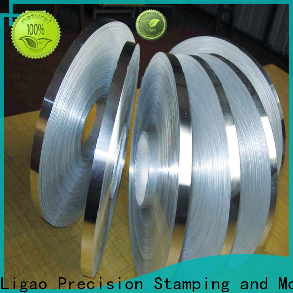 Ligao crafts precision metal stamping Suppliers for shield cap
