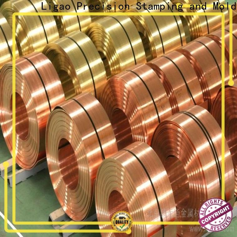 Ligao copper stamping parts company for equipment