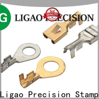 Ligao stamping precision metal stamping parts factory for equipment