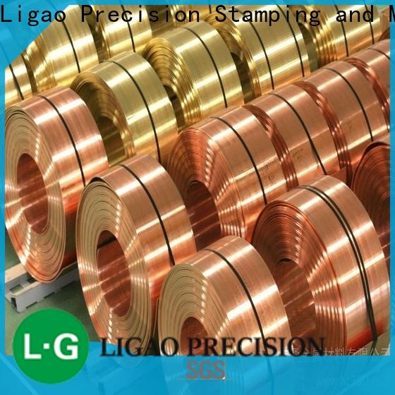Ligao copper metal stamping process for business for shield case