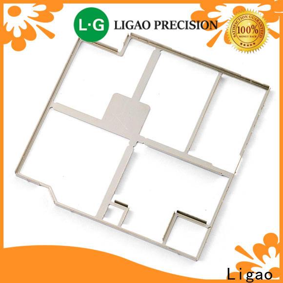 Ligao beryllium precision metal stamping parts factory for shield cap