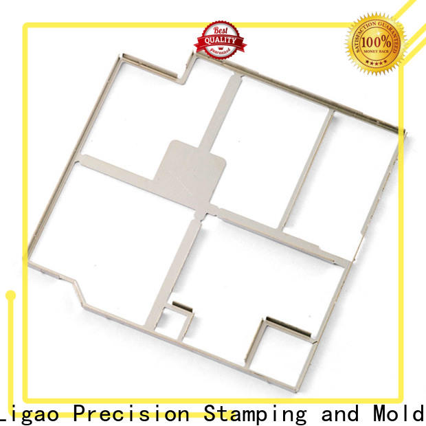 Ligao alloy custom metal stamping blanks for business for screening can