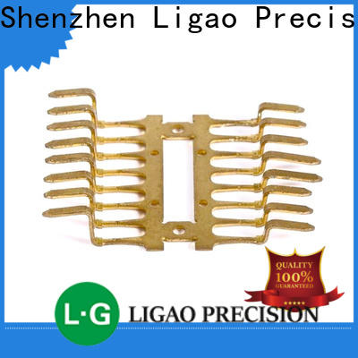 Ligao High-quality metal stamping parts manufacturers Suppliers for shield cap