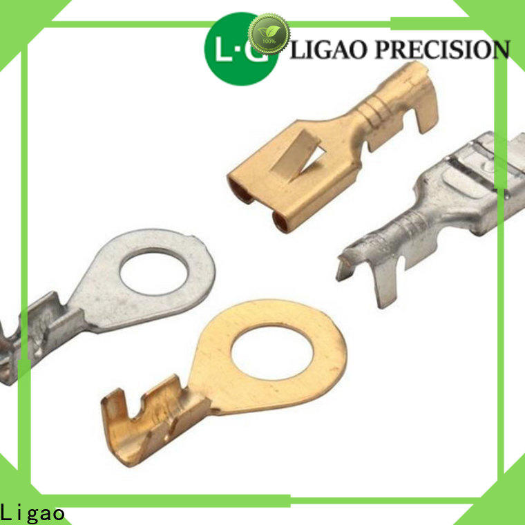 Ligao cover custom metal stamping blanks Suppliers for shield cap