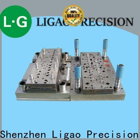 Ligao Custom small metal stamping machine company for engraving machines