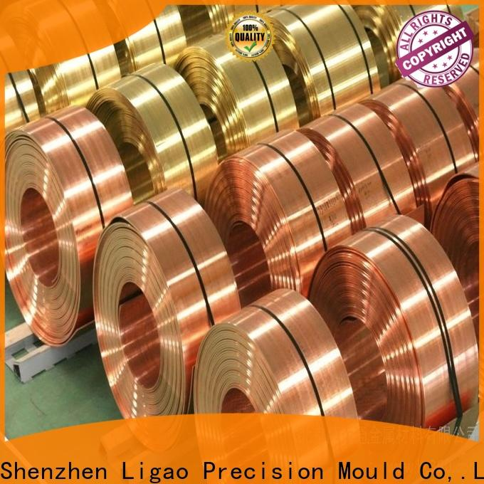 Ligao copper production metal stamping for business for shield cap