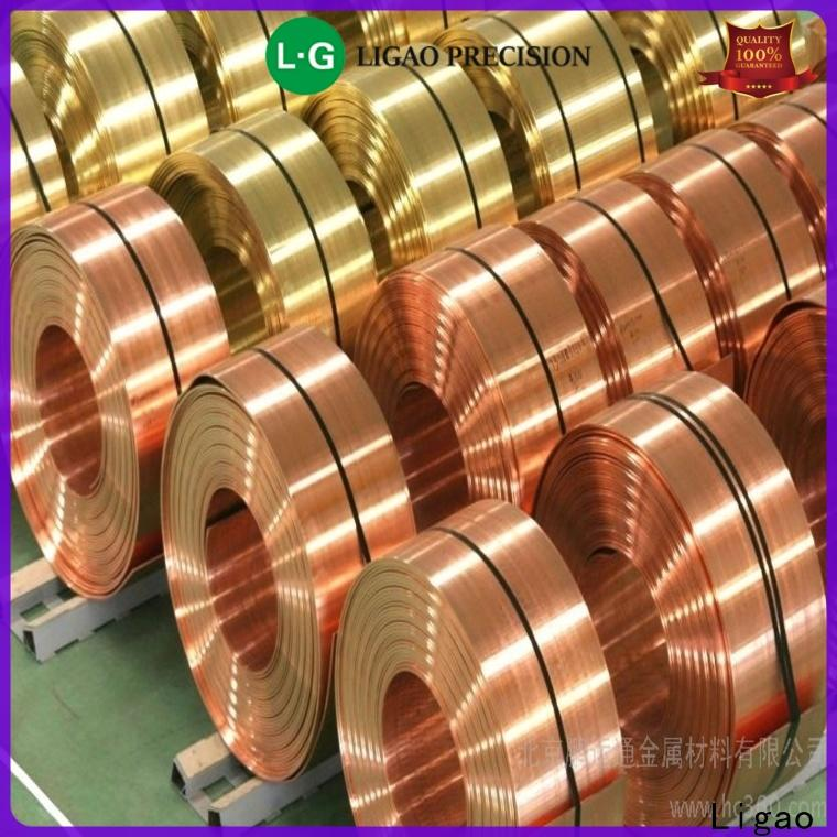 Ligao High-quality precision metal stamping parts factory for equipment
