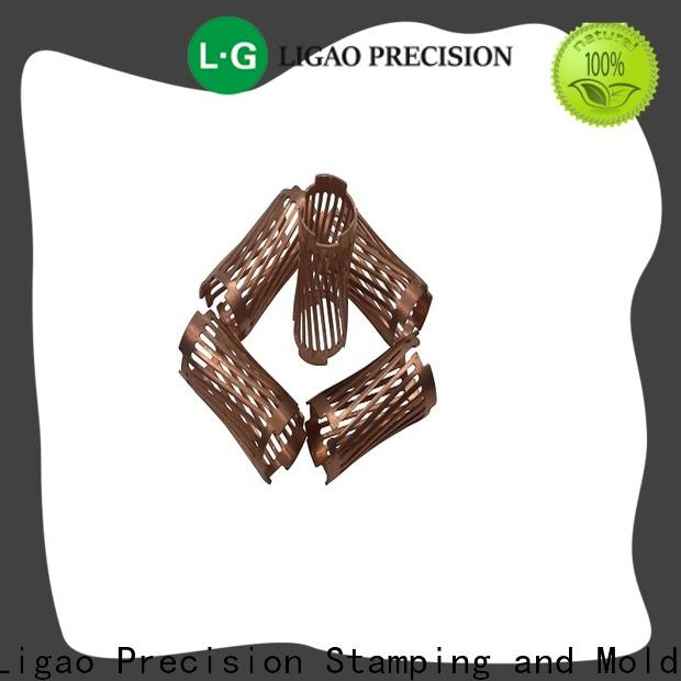 Ligao brass metal stamping service factory for shield case