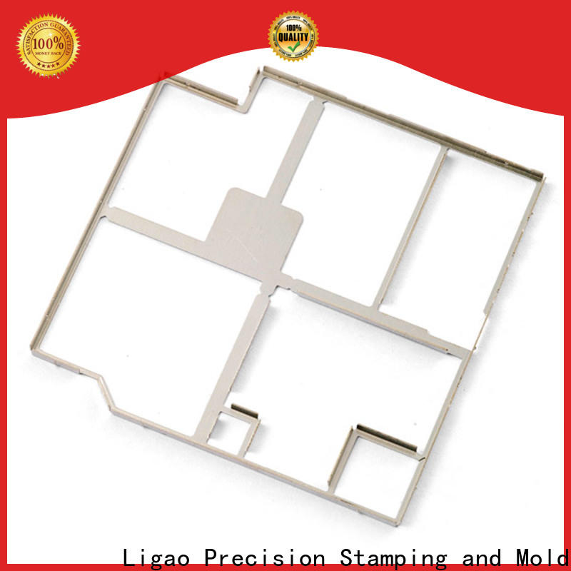 Ligao different metal stamping service company for screening can