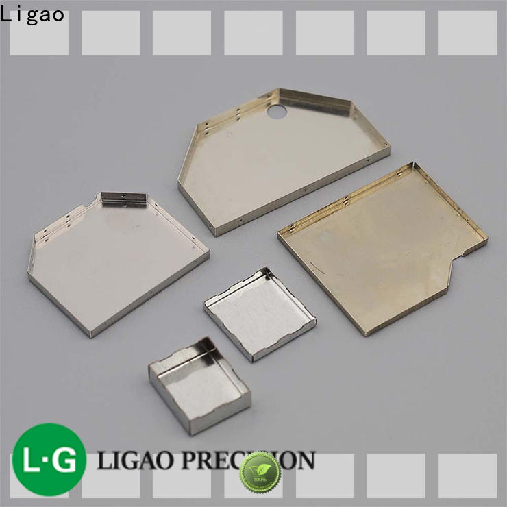 Ligao caps quality metal stamping Supply for shield cap
