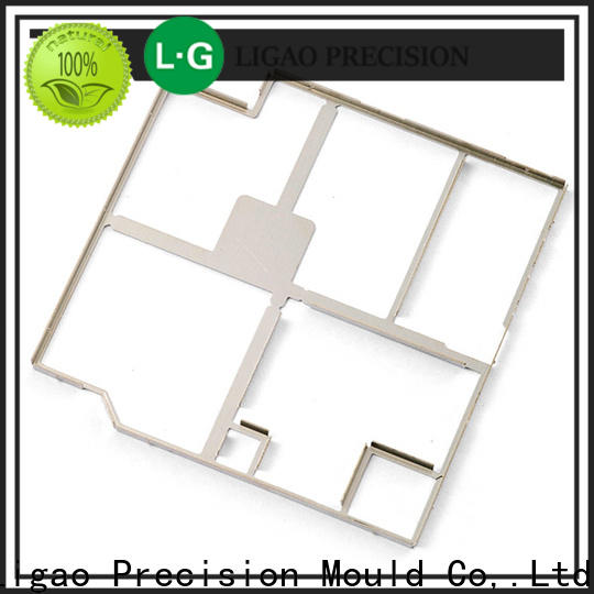 Ligao Custom precision metal stamping parts manufacturers for shield cap