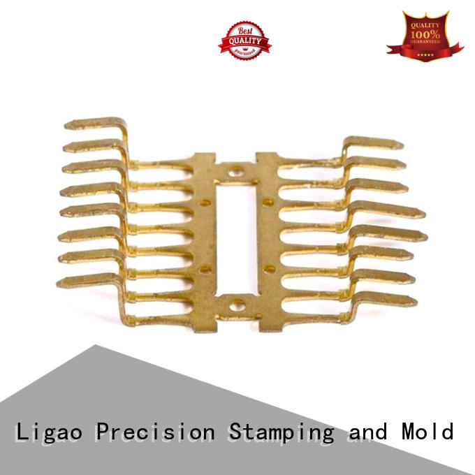 Ligao stamping quality metal stamping supplier for shield case