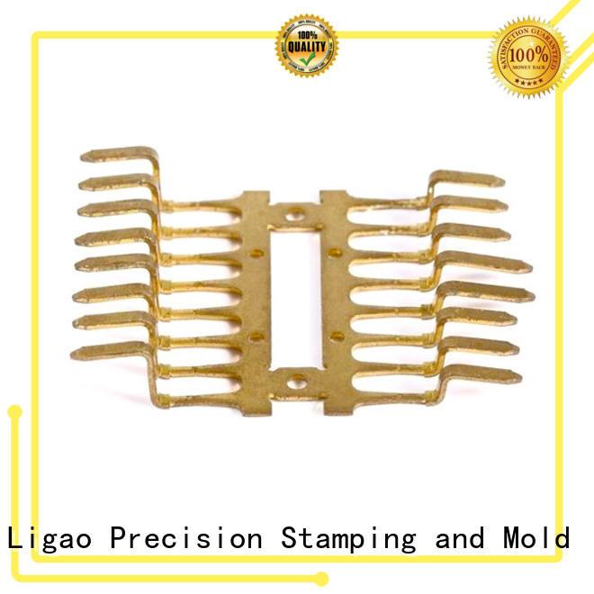 Ligao custom stamping manufacturing manufacturer for shield cap