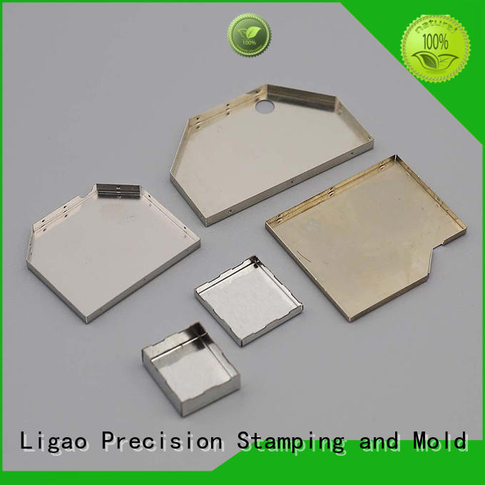 Ligao Top metal stamping companies Suppliers for shield cap