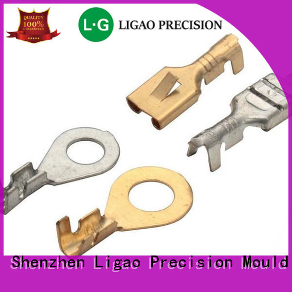 Ligao screening metal stamping process company for shield case