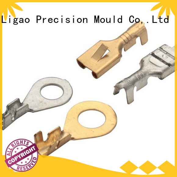 Ligao terminals metal stamping industry supplier for shield case