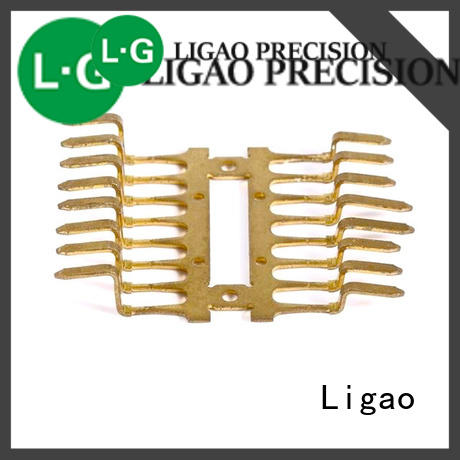 Ligao precision metal stamping business company for shield cap