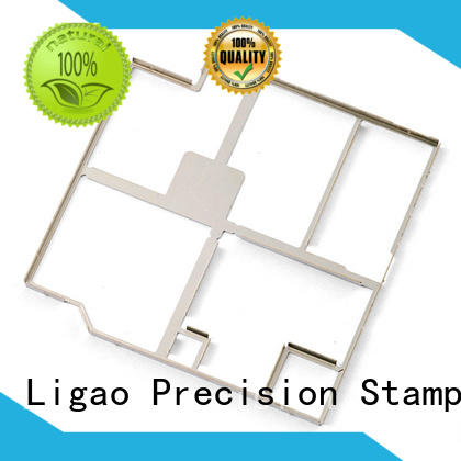Ligao kinds metal stamping process company for screening can