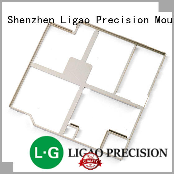 Ligao high-quality prototype metal stamping parts for shield case