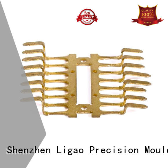 Ligao high-quality stamping brass wholesale for shield cap