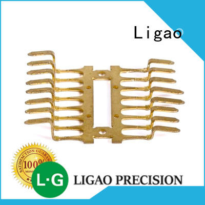 Ligao Custom metal stamping companies manufacturers for shield cap