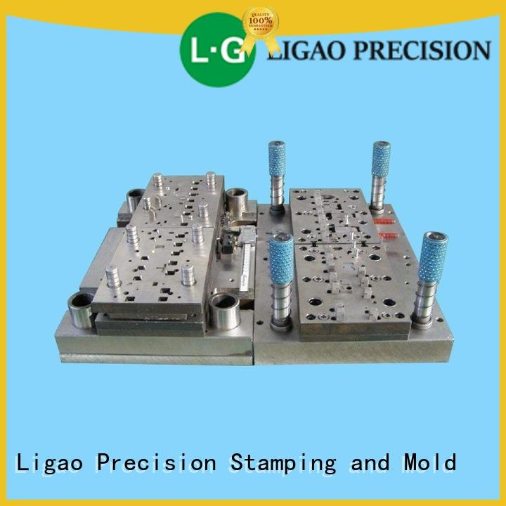Ligao online mold manufacturing punching for engraving machines