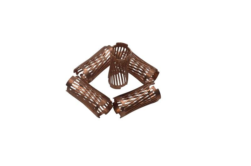 New Energy Torsion Spring Copper Stamping Parts