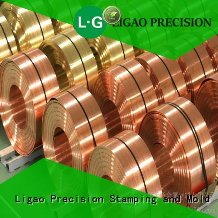 Ligao products precision metal stamping parts factory for shield case