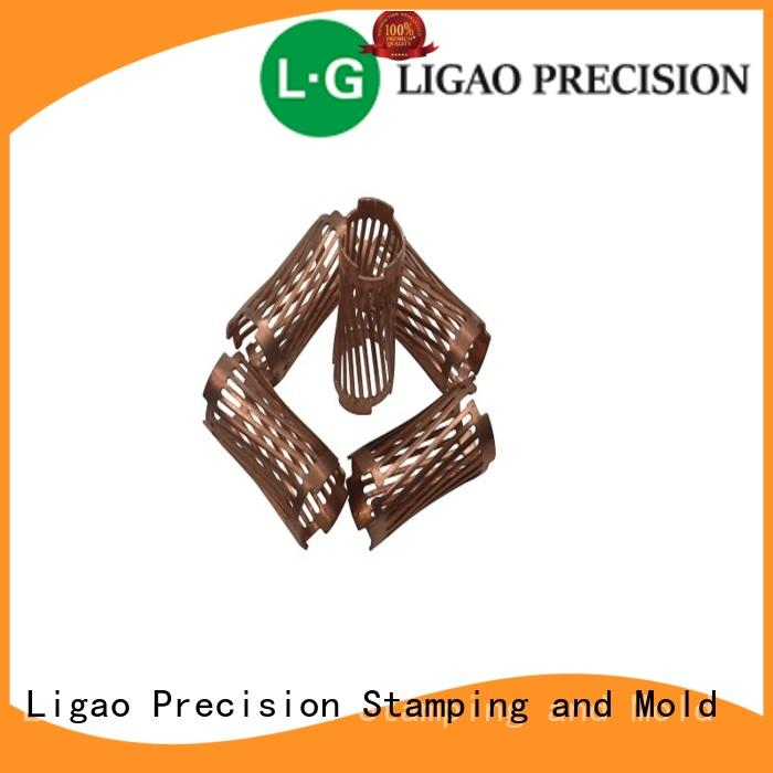 precision metal stamping cap for screening can Ligao