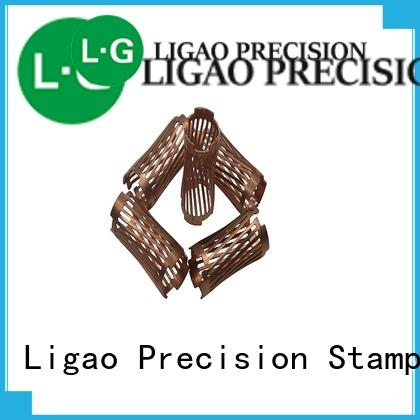 Ligao caps stamping parts manufacturer company for shield cap