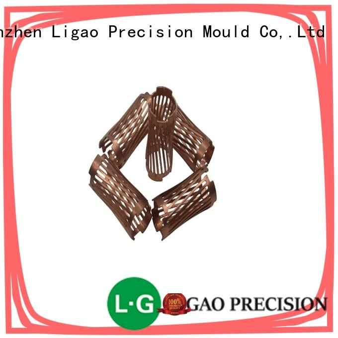 Ligao parts all metal stamping wholesale for shield case
