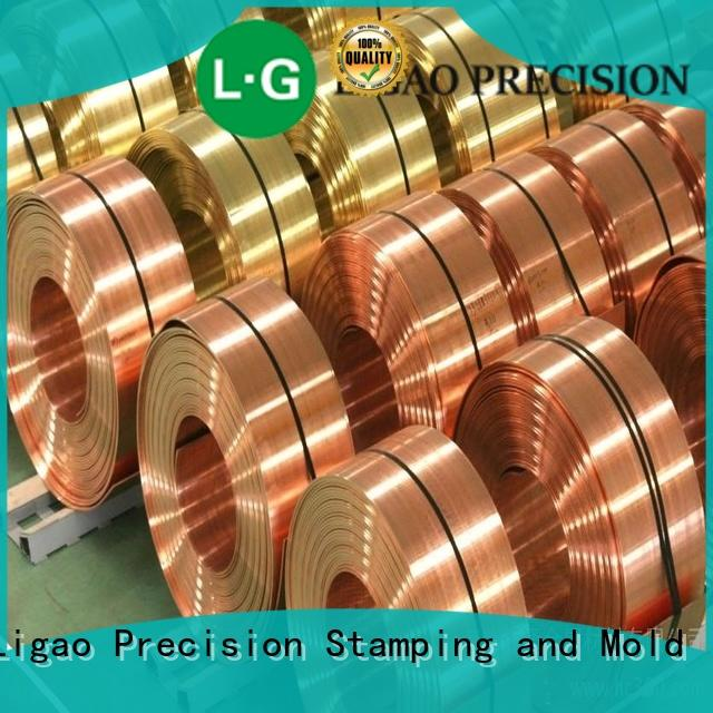 Ligao Best metal stamping service Supply for shield cap