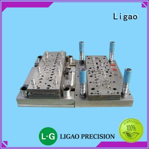 Ligao bending custom metal die factory for wire cutting machines