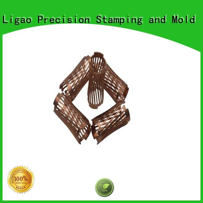 Ligao shell metal stamping parts manufacturers company for screening can