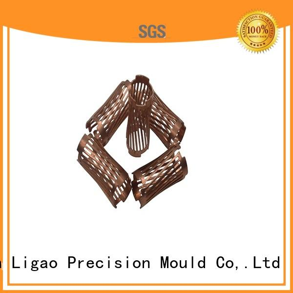 Ligao High-quality precision metal stamping factory for shield cap