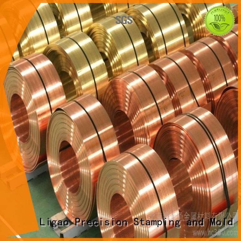 Ligao parts metal stamping parts manufacturers company for shield cap