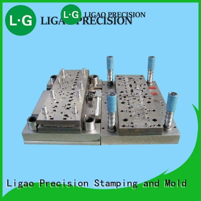Ligao progressive stamping die components manufacturers for engraving machines
