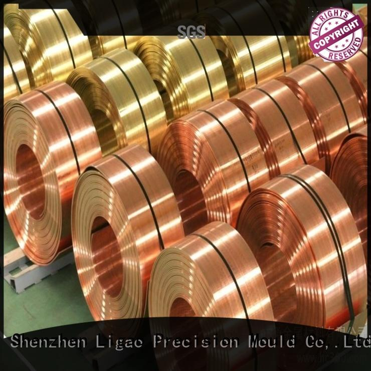 Ligao Custom metal stamping supplies Supply for shield cap